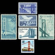 Historic Bridges on US Stamps