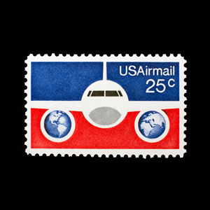 1976 U.S Airmail Stamp #C89