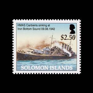 2005 Solomon Islands Stamp # 999e