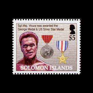 2005 Solomon Islands Stamp # 999j
