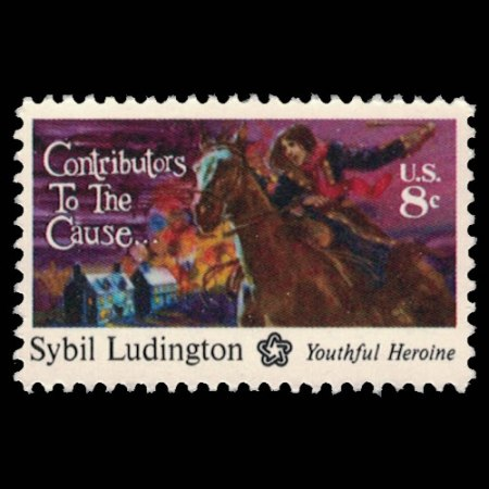 U.S. #1559 - Sybil Ludington 8 Cent Stamp.