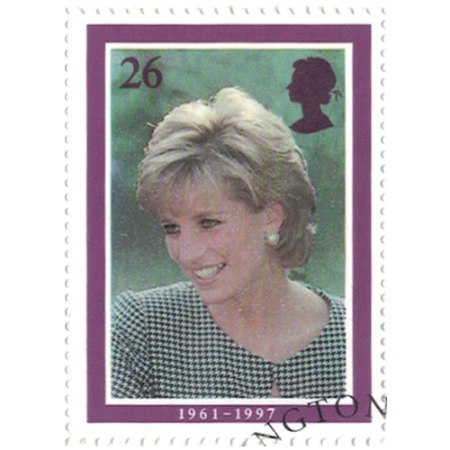 26 pence Great Britain Collectible Stamp #1794 - Princess Diana