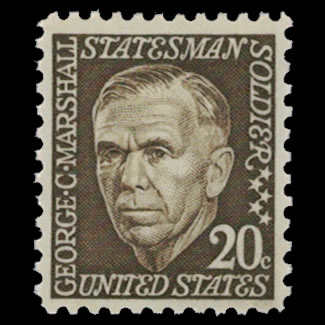 US Stamp #1289 - 20 Cent George Marshall