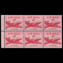 U.S. Airmail Stamp C39a - DC-4 Skymaster