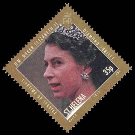 2012 St. Helena Stamp #1048