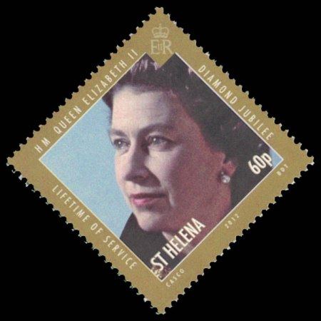 2012 St. Helena Stamp #1051