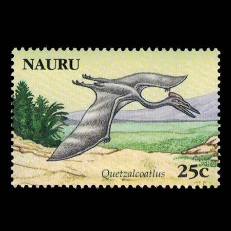 2006 Nauru Stamp #557 - 25 cent Quetzalcoatlus