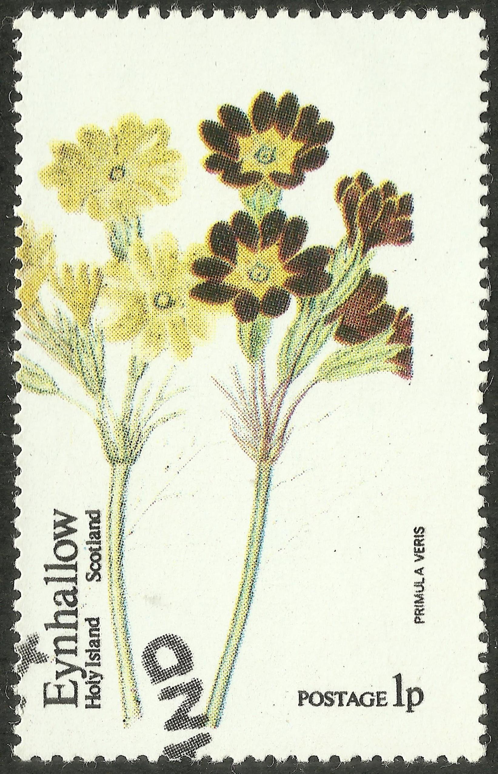 Eynhallow (Holy Island) [Local Post] – Primula (1974)