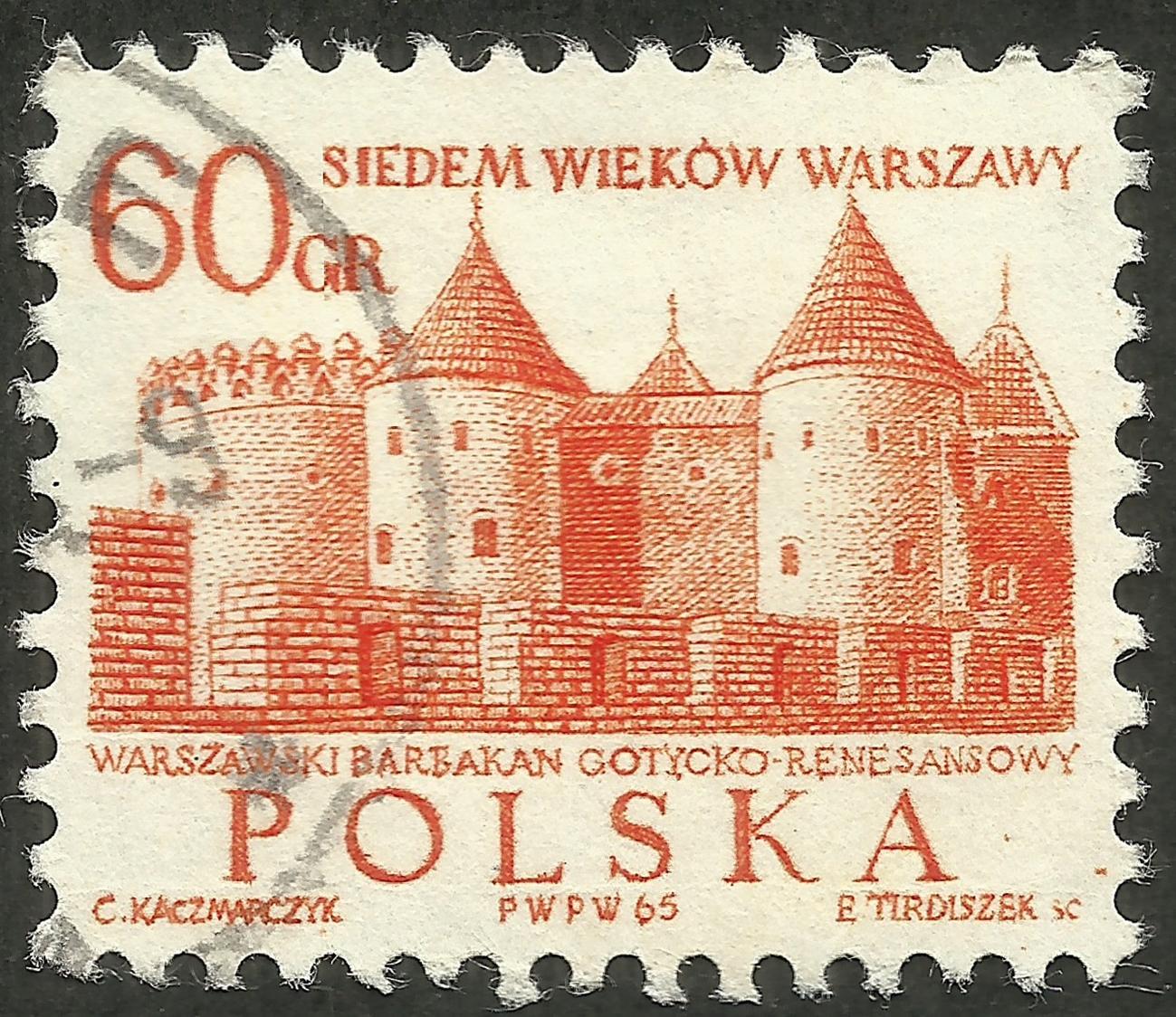 Poland #1338 (1965)
