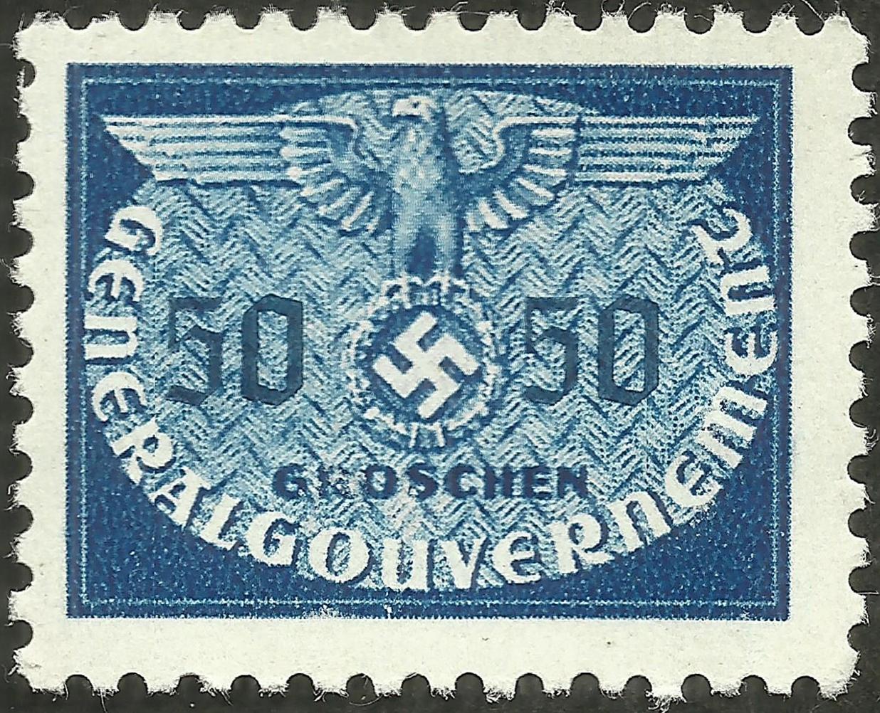 Poland under German Occupation #NO10 (1940)