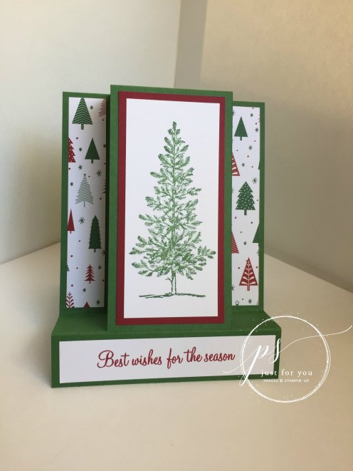 Stampin'Up!-Lovely-As-a-Tree-Steps-Card-#StampAfterSunrise
