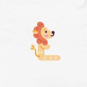 Maglietta Nome con la L Bambini