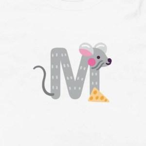 Maglietta Nome con la M Bambini