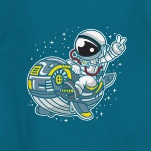 Maglietta Orca con Astronauta