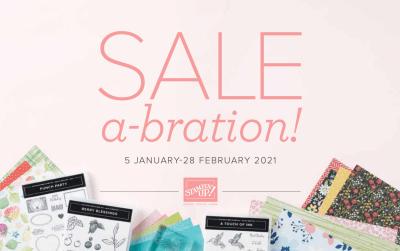 Sale-A-Bration Begins