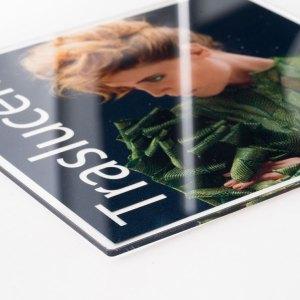 plexiglass trasparente 3mm con stampa in alta definizione