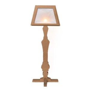 Lampada in Cartone