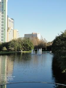 convention centre fountain