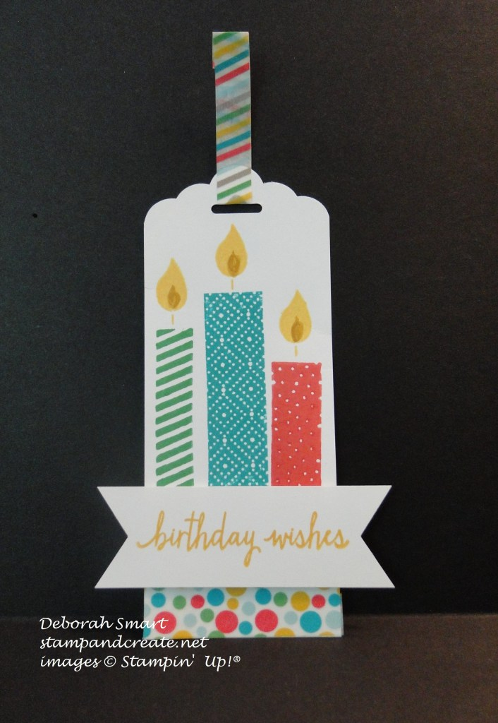 Build a birthday tag