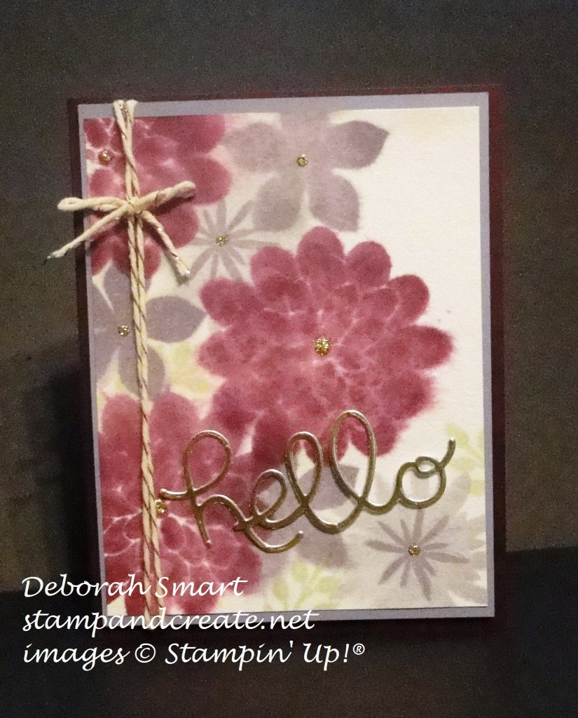 creation station flower patch watercolouring