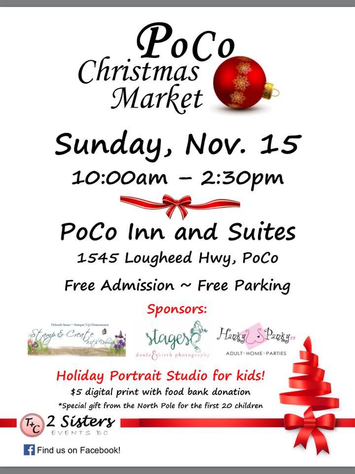 poco christmas market flyer