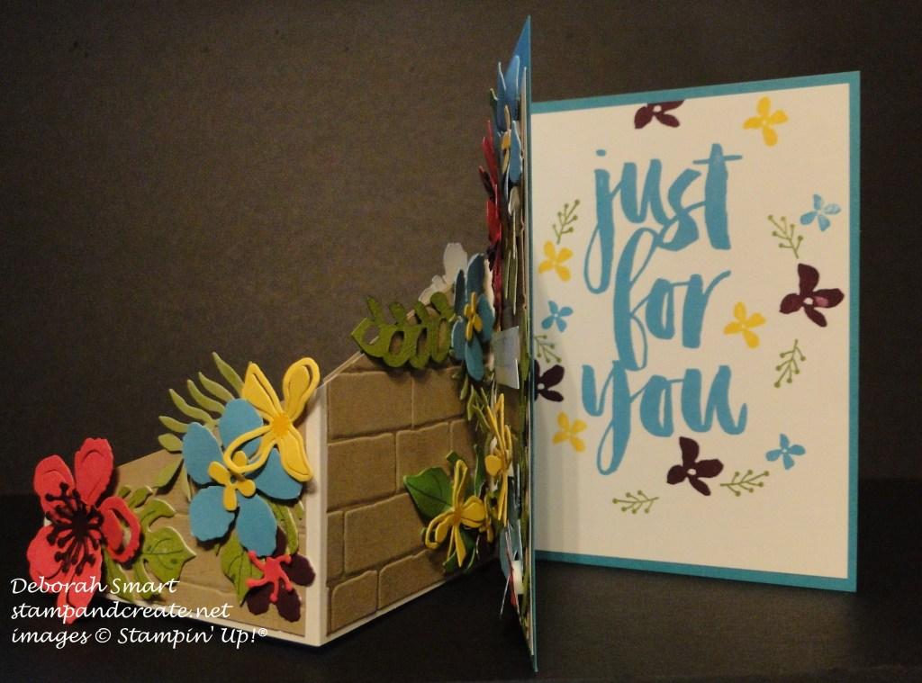 WWC52 botanical blooms card base