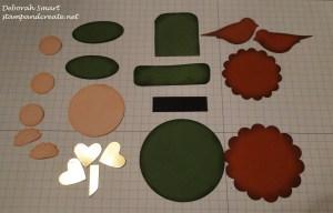 leprechaun pieces sponged