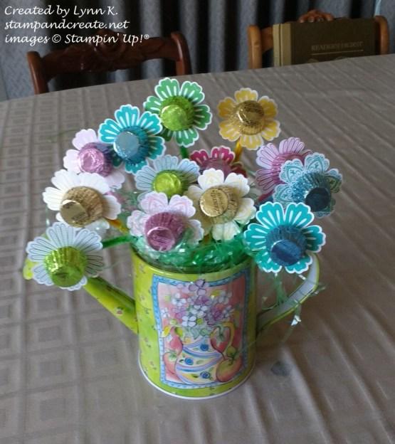 Lynns Easter flowers