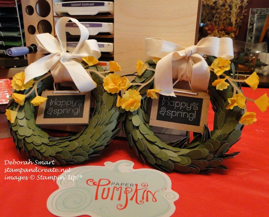 April PP wreath