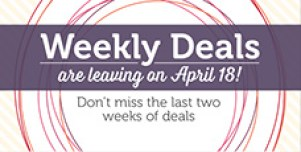SU WeeklyDeals ending soon