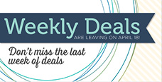 SU weekly deals final week