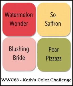 WWC63 Kath's colour challenge