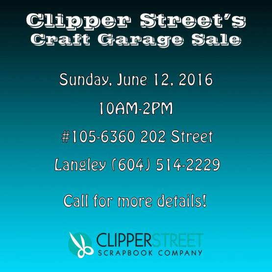 clipper st garage sale