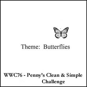 WWC76 Penny's CAS butterflies