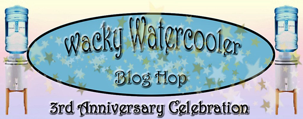 Wacky Watercooler 3rd Anniversary Celebration Banner