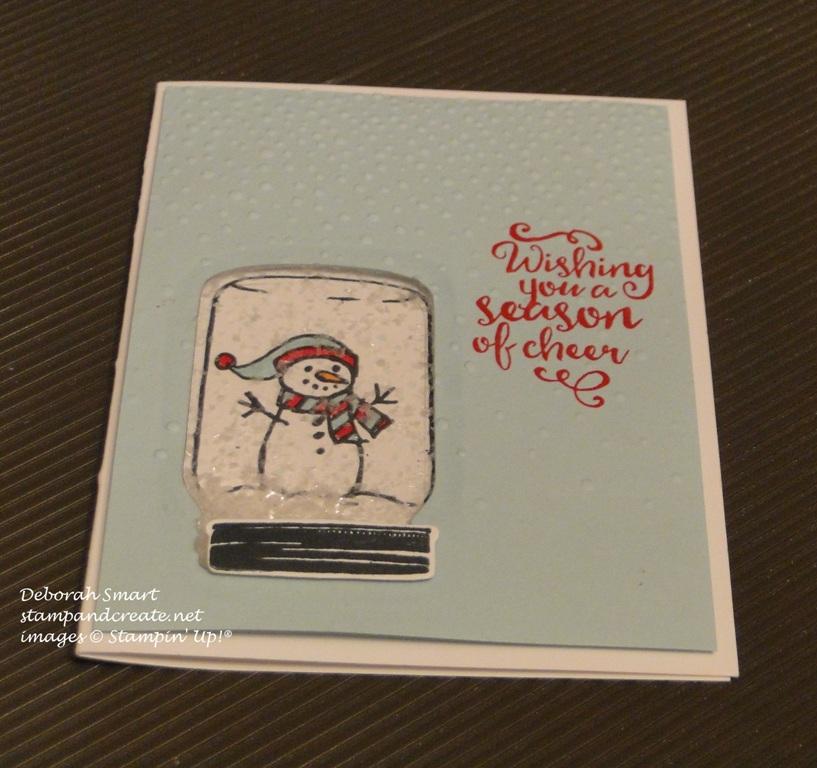 jar of cheer shaker card