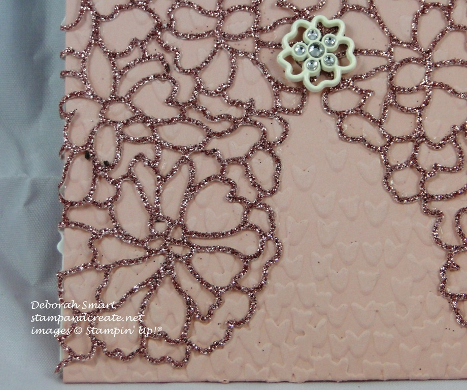 Wedding Pocket card - close up details