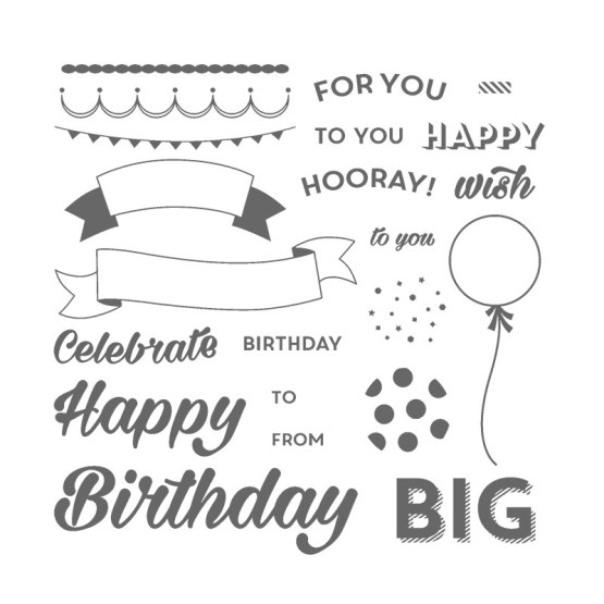 Birthday Bright Stamp Set