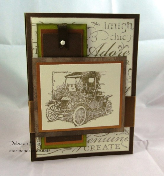 Card Swap with Friends - Margaret's car card