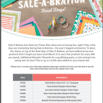 New items for Sale-A-Bration Final Days