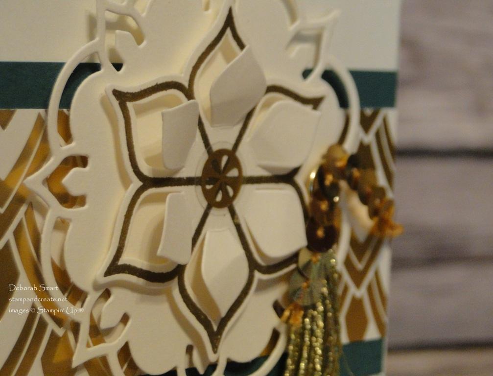 Metallic Embellishments Challenge