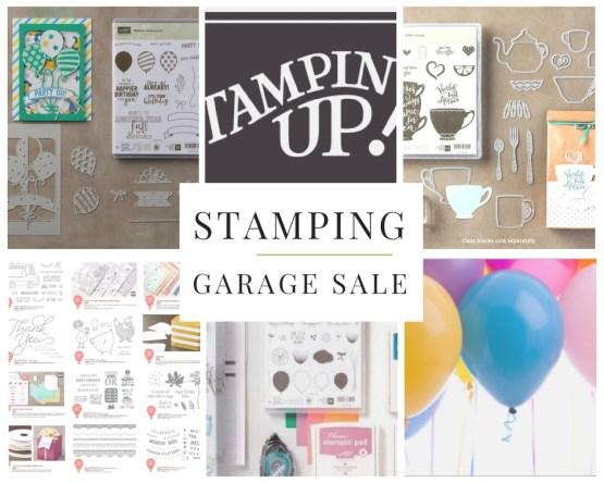 Stamping Garage Sale