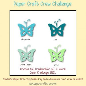 Paper Craft Crew Colour Challenge
