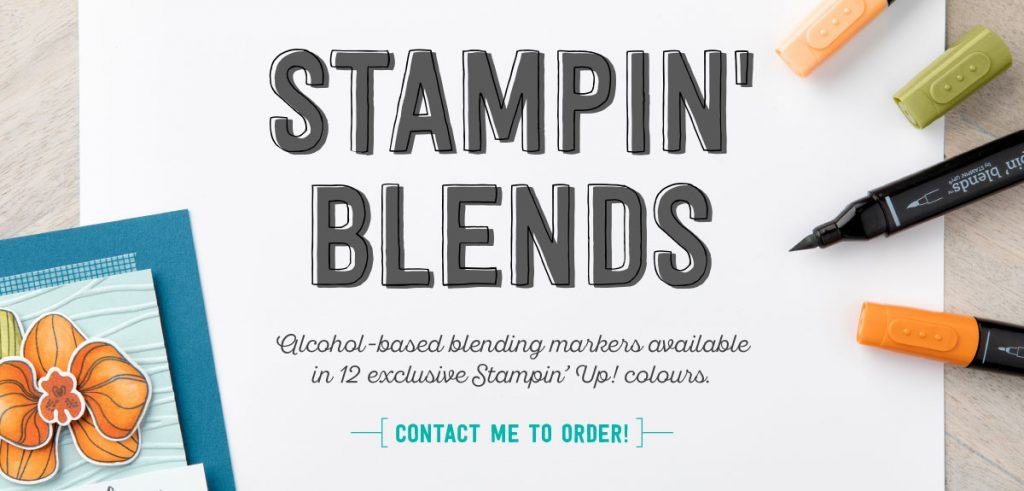 Stampin' Blends Available Now!
