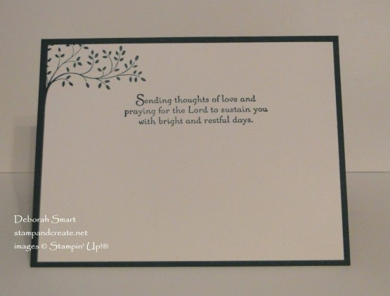 Thoughts & Prayers Sympathy Card