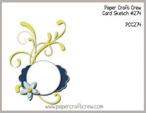 PCC274 Paper Craft Crew Sketch Challenge