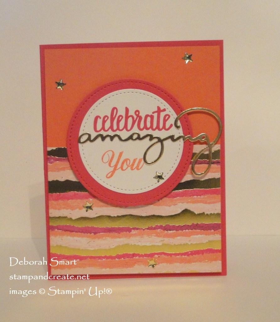 Celebrate Amazing You!