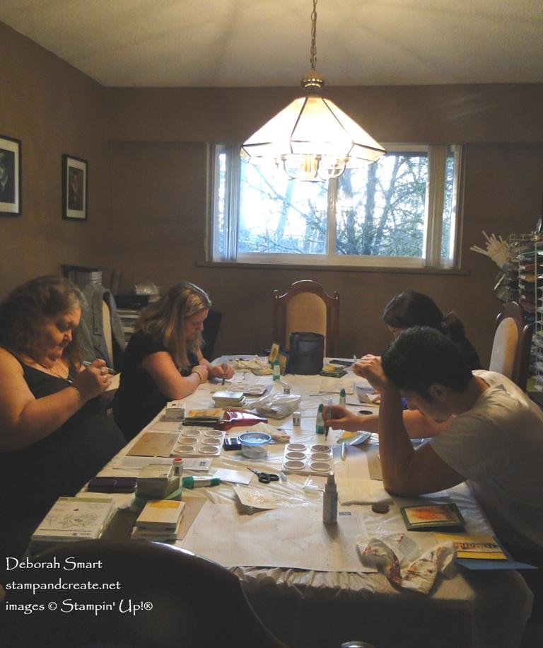 Brusho as Watercolour Paints