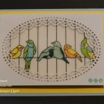 Stained Glass Birds