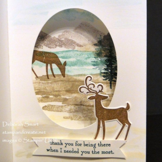 Under the Mistletoe with Dashing Deer